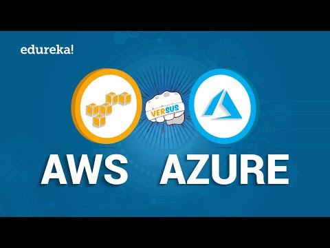 AWS vs Azure | Difference Between Microsoft Azure and Amazon