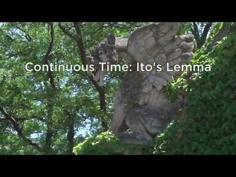 1.2 Ito's Lemma