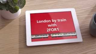 2FOR1 on London attractions when you go by train with Abellio Greater Anglia