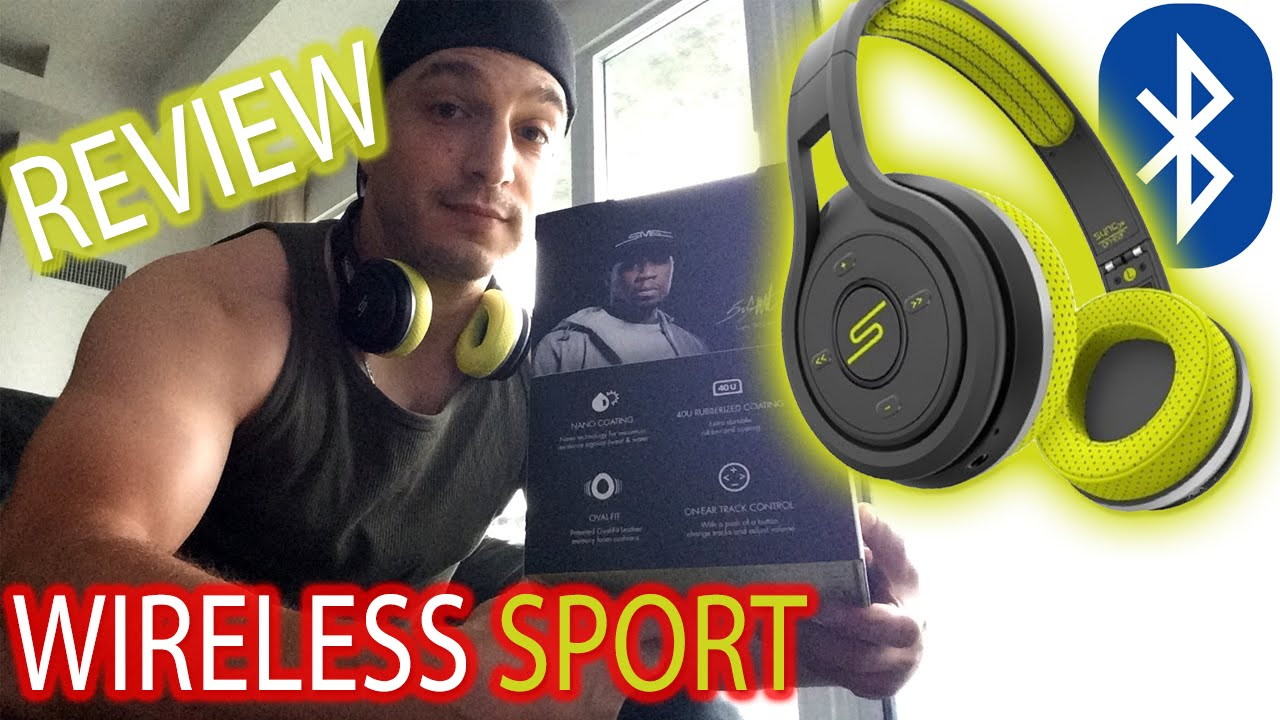 Review Sms Audio Sync By 50 Sport On Ear Wireless Headphones Youtube