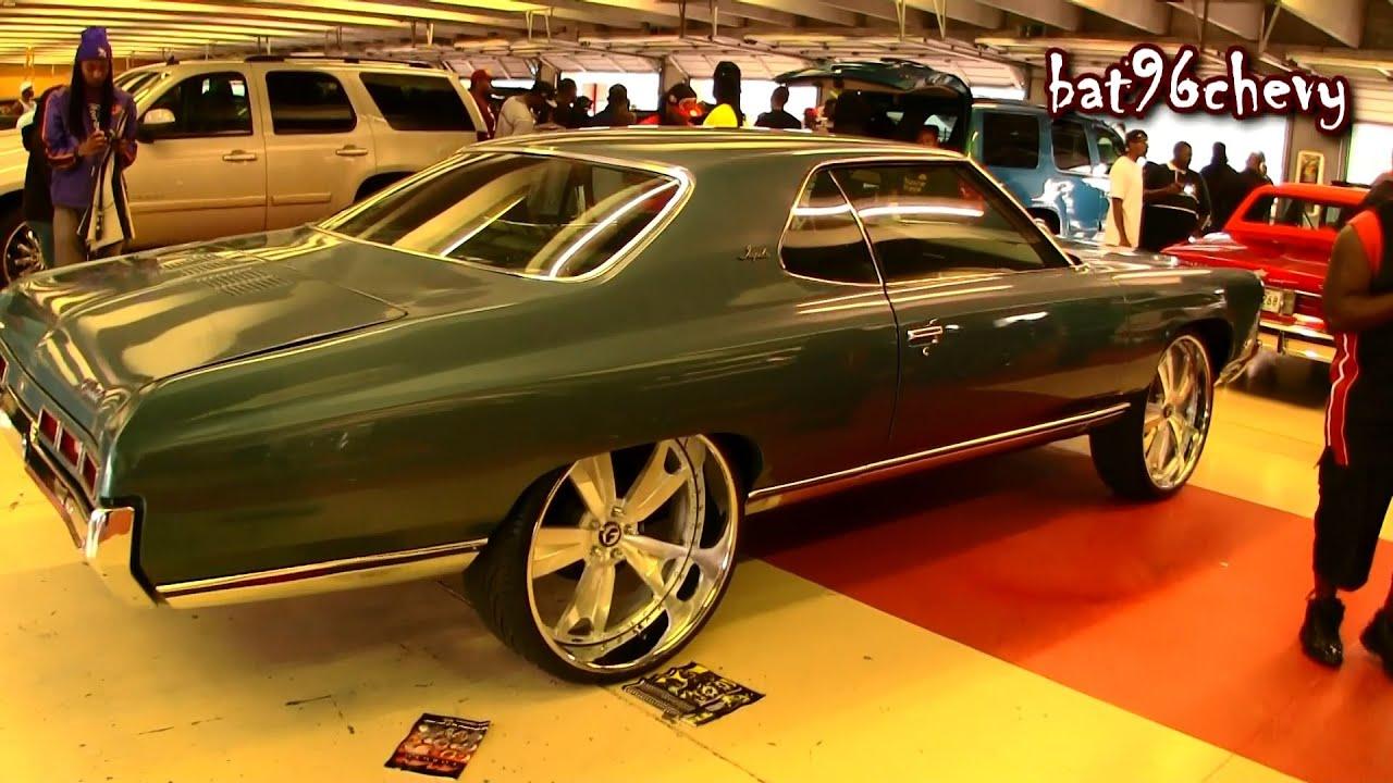 """1971 Chevy Impala Sports Coupe Donk on 26"""" Forgiatos ..."""