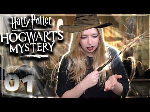 J'AI ÉTÉ ADMISE A POUDLARD ! #01 [Harry potter Hogwarts Mystery MOBILE] FR