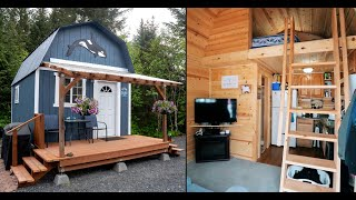 Alaskan 12x16 Shed Tiny House - Living In Style On A Budget