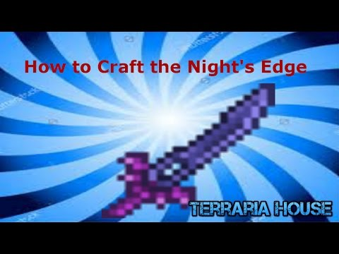 download How to craft the Night's Edge in Terraria (Easymode weapon) [6/24/16]