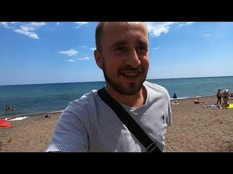 Пустые пляжи в Крыму. Где отдыхающие? Цены. Прибрежное. Солнечная Долина 2019