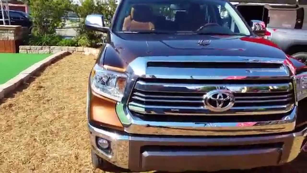 1794 Toyota Tundra >> 2016 Toyota Tundra 1794 Crewmax 4x4 - YouTube