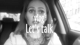 ВЛОГ Let's Talk. УЗИ на 24 неделе,  Дима за рулем, разговоры в машине
