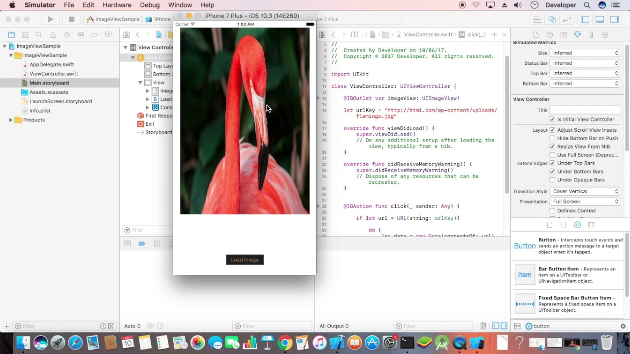 Show Image from Url in iOS Swift