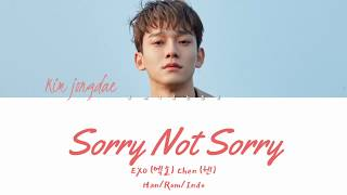 Download Chen '첸' –  '하고 싶던 말' (Sorry Not Sorry) Lyrics Han/Rom/Indo Mp3