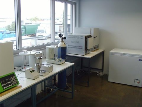 Biomass Laboratory Of The Sustainable Energy Research Group At Frederick University