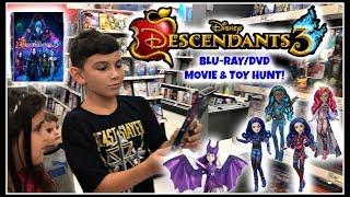 DESCENDANTS 3 Movie Premiere! Blu-Ray & DVD Movie & Toy Hunt at Target! Singing Audrey!