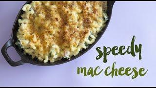 Speedy Macaroni Cheese With Cauliflower