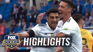 Australia vs. Germany | 2017 FIFA Confederations Cup Highlights
