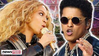 Beyoncé, Bruno Mars & More ICONIC SuperBowl Half-Time Shows!