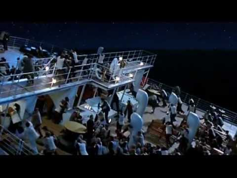 Titanic Grand staircase Scene HQ