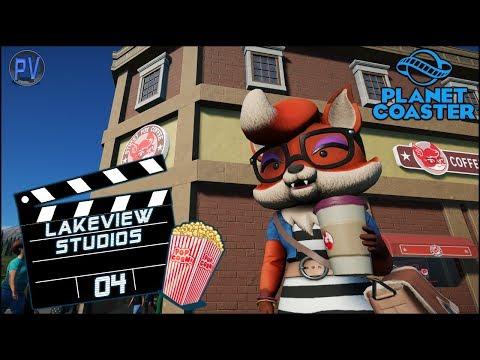 🎬 Street Fox Coffee! | Lakeview Studios - Episode 4 | Planet Coaster |