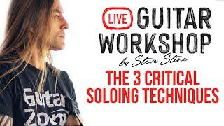 Essential Techniques #6 - The 3 Critical Soloing Techniques