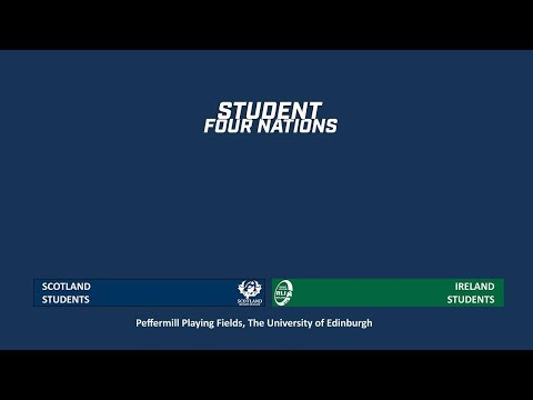 Scotland V Ireland - Student Rugby League Four Nations 2019 - Round 2