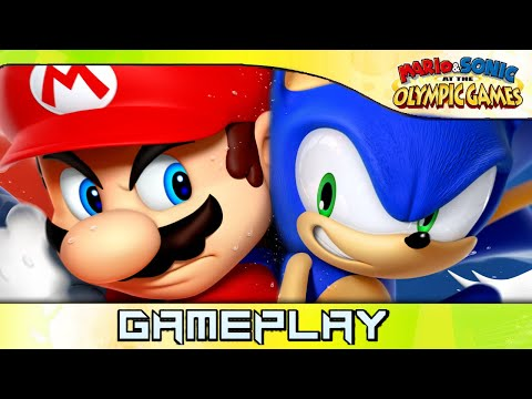 Mario & Sonic at the Olympic Games 2008: Team Sonic ❰2K 60FPS❱