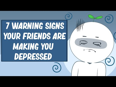 7 Signs Your Friends Are Making You Depressed