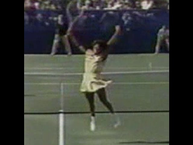 1988 US Open Zina Garrison d Martina Navratilova Travel Video