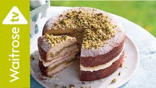 Lemon and Pistachio Cake | Waitrose