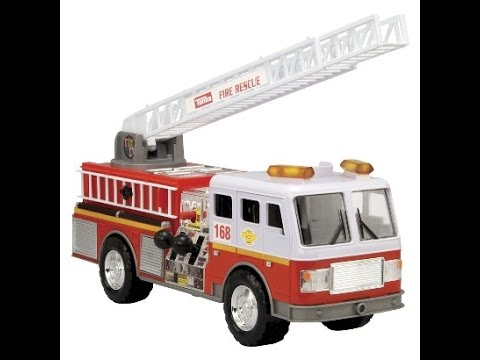 camion de pompiers tonka motoris jouet pour les enfants. Black Bedroom Furniture Sets. Home Design Ideas
