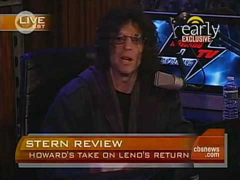 Howard Stern rants about Jay Leno on the CBS Early Show - March 02, 2010 (03-02-10)