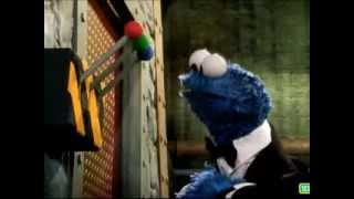 Repeat youtube video Sesame Street: The Spy Who Loved Me (007 Parody, with extra effects)