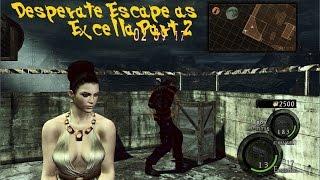 Resident Evil 5 GE PC Desperate Escape as Excella Part 2