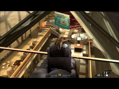 Rainbow Six Vegas 2 4-player coop public library and chase campaign part 1