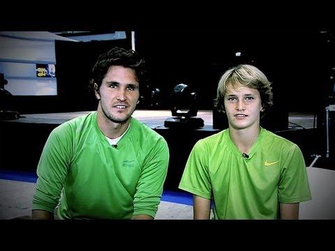 Mischa Zverev & Family In ATP World Tour Uncovered