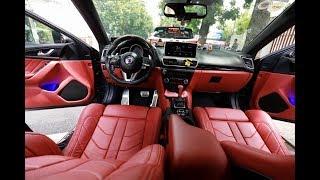 Thợ Việt độ ghế BMW X6 vào Mazda3
