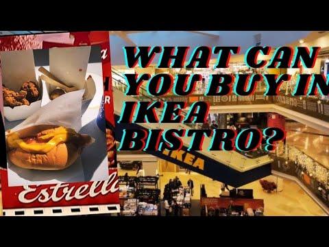 BUYING FOOD IN IKEA BISTRO||IKEA SWEDISH FOOD MARKET