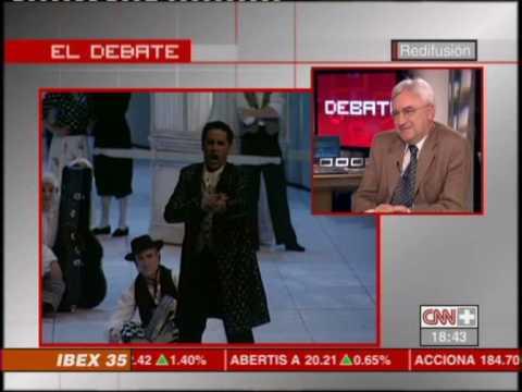 Juan Diego Florez INTERVIEW CNN  (part 1/4)