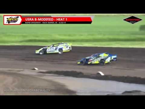 B-Modified Heats - Rapid Speedway - 6/28/19