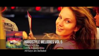 FL Studio: Hardstyle Melody Pack #5 (HD) (30 Midi Files)