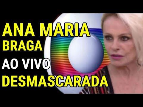 Ana Maria Braga é DESMASCARADA ao vivo e FARSA da REDE GLOBO é DESCOBERTA