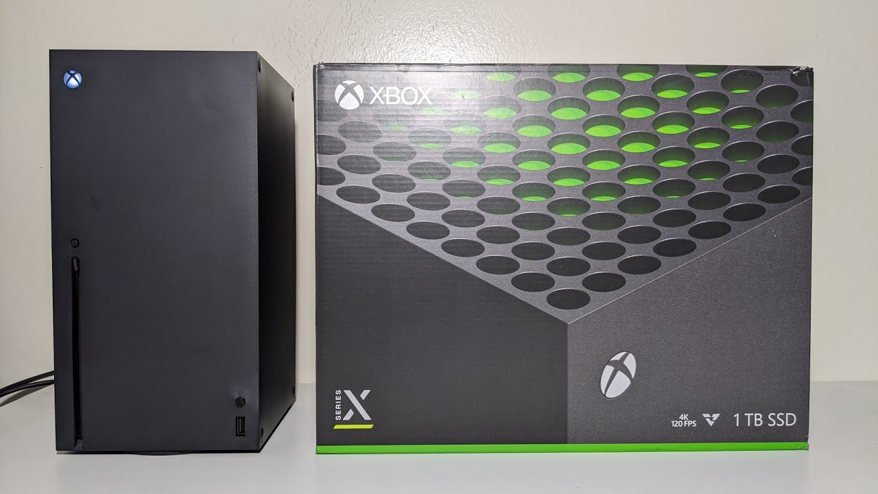 Xbox Series X Unboxing in 1 Minute! (YouTube #Shorts)