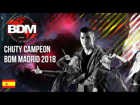 CHUTY CAMPEÓN BDM MADRID 2018