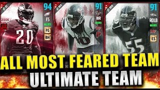 ALL MOST FEARED TEAM!!! - Madden 17 Ultimate Team