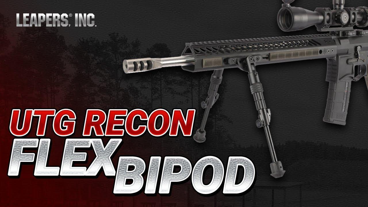 "8/""-11.8/"" UTG Recon Flex KeyMod Bipod"