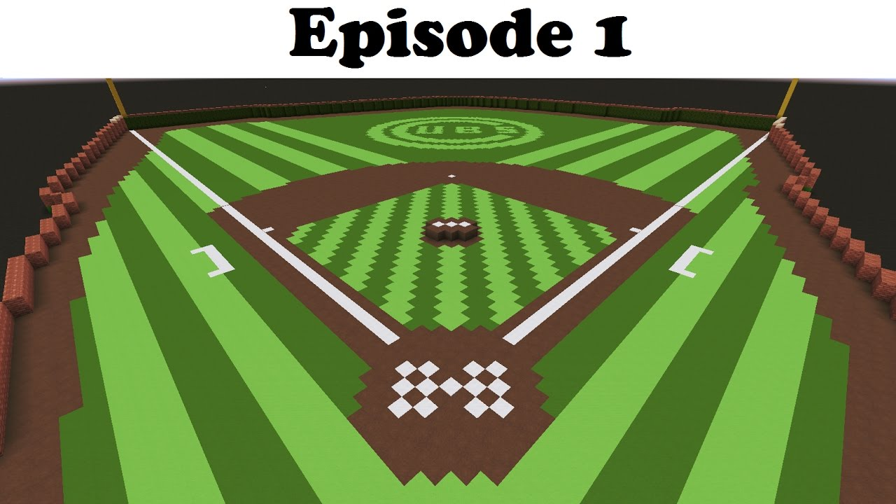 How to make the best baseball field in minecraft ep 1 of 3 youtube how to make the best baseball field in minecraft ep 1 of 3 malvernweather Image collections