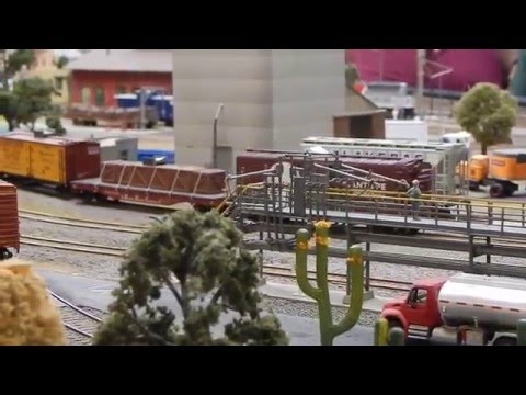Alvin's Ho scale Model Railroad Layout Tour (Canadian National)