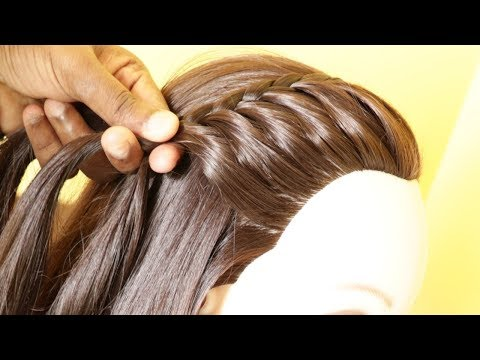 beautiful-side-french-braided-hairstyle-|-hairstyle-for-college-girls-|-kgs-hairstyles