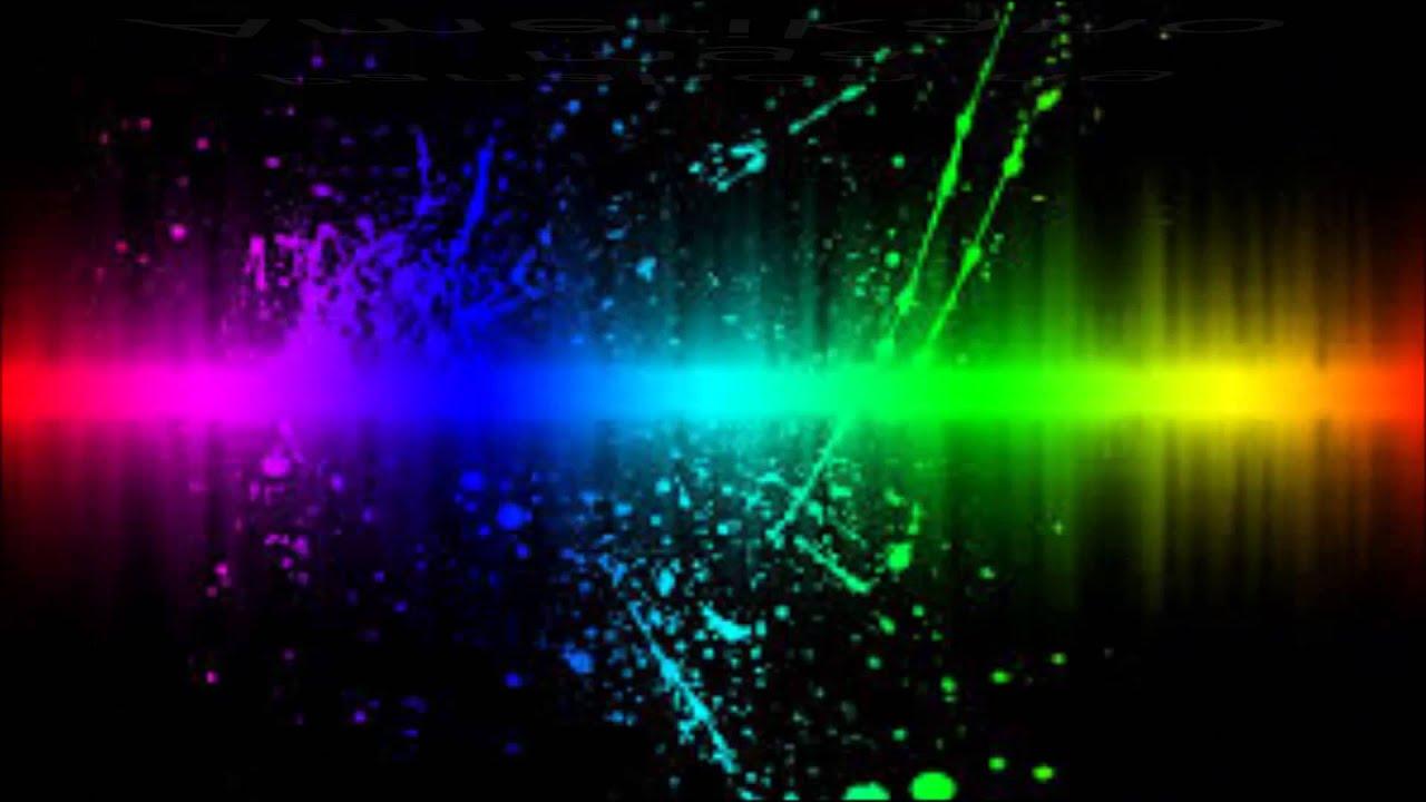 techno rainbow background - photo #38