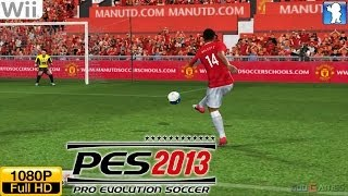Pro Evolution Soccer 13 - Wii Gameplay 1080p (Dolphin GC/Wii Emulator)