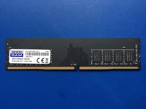 Оперативная память Goodram DDR4-2133 4096MB PC4-17000 (GR2133D464L15S/4G)