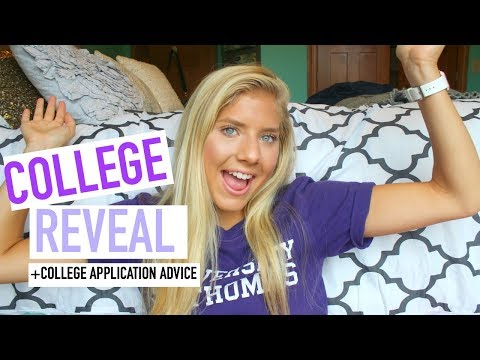 WHERE IM GOING TO COLLEGE?! + College Application Advice/Tips