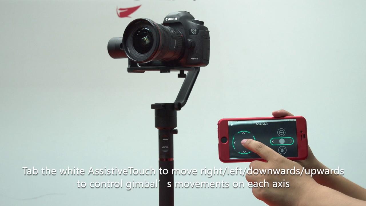 MOZA Air 3-axis Handheld Gimbal Camera Stabilization and